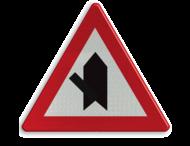 Verkeersbord België B15d - Voorrang verlenen.