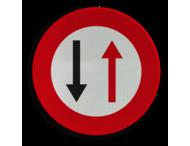 Verkeersbord België B19 - Smalle doorgang