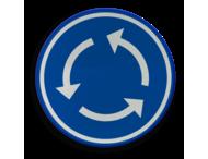Verkeersbord België D05 - Rotonde