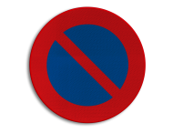Verkeersbord België E01 - Parkeerverbod