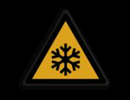 Veiligheidspictogram - Waarschuwing Bevriezingsgevaar - W010