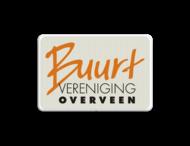 Logobord Buurtvereniging Overveen