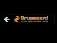 Verwijsbord BRUSSAARD 2000x350x32mm  full-colour