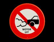 Verkeersbord C06_motor uit
