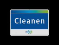 Afval- locatieborden rechthoek in huisstijl
