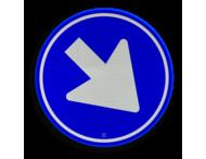 Verkeersteken RVV D02 - klasse III