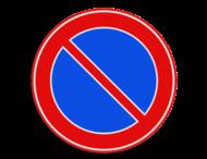 Verkeersteken RVV E01 vol reflecterend