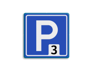 Verkeersbord RVV E04_nummer