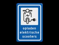 Informatiebord - Oplaadpunt elektrische scooters