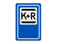 Verkeersbord RVV E12 - Kiss & Ride