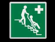 Veiligheidspictogram - Evacuatiestoel - Evac Chair