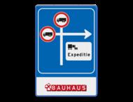 Routebord RVV C07 - volg route expeditie