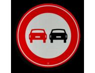 Verkeersteken RVV F01