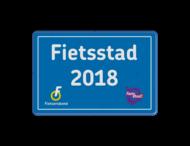 Informatiebord Fietsstad