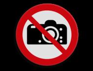 Veiligheidspictogram - Fotograferen verboden - P029