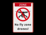 Informatiebord - No Drone zone