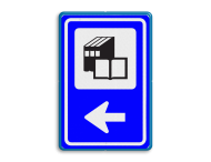 Bewegwijzering Openbare ruimte  BW101 + pijlfiguratie