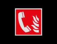 Pictogram F006 - Telefoon voor brandalarm