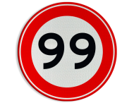 Verkeersteken A01-00 vrij invoerbaar - klasse III
