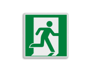 E002 - Vluchtroute - Nooduitgang rechts