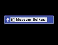 Verwijsbord cultuur 1500x230x32mm