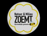 Informatiebord Natuur en Milieu - Bijvriendelijke gemeente