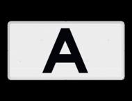 Verkeersbord RVV OB901 - Onderbord - A