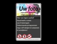 Informatiebord eigen tekst + full colour opdruk