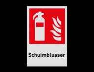 Pictogram F001 - Schuimblusser