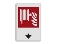 Brandweer - Brandslang - F002 + pijlverwijzing