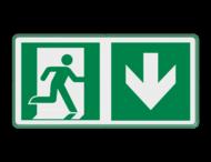 Veiligheidspictogram - Vluchtroute