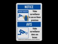 Veiligheidsbord | 2 symbolen + banners + tekst