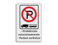 Verkeersbord ARD RVV E201 + eigen tekstregels