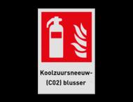 Pictogram F001 - Koolzuursneeuw(C02)blusser
