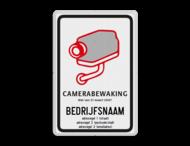 Camerabord België + bedrijfsgegevens