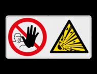 Veiligheidsbord | 2 symbolen