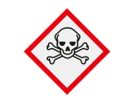 Pictogram GHS06 - Gevaar (zeer) giftige stoffen