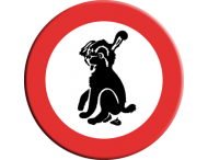 Informatiebord hond A