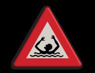 Verkeersbord drenkeling NL