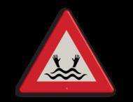 Informatiebord - drenkeling (België)