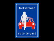 Verkeersbord RVV L51 - fietsstraat - Fietsstraat