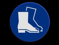 Veiligheidspictogram - Laarzen dragen verplicht - M008