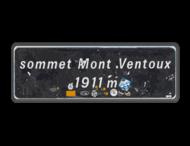 Informatiebord sommet Mont Ventoux