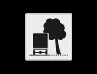 Verkeersbord RVV OB17r - Overhangende takken