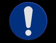 Veiligheidspictogram - Opgelet - M001
