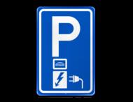 Parkeerbord RVV E08o - oplaadpunt - Engie