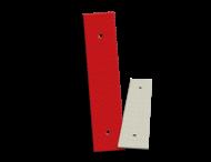 Bermpaalreflector alu 40x180mm