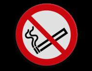 Veiligheidspictogram - Verboden te roken - P002