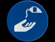Pictogram M022 - Beschermende handcrème verplicht