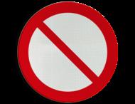 Pictogram P001 - Algemeen verbod